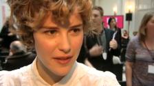 Video «Shooting-Star Carla Juri in Berlin» abspielen