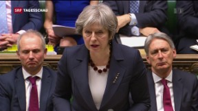 Video «Theresa May greift in Spionage-Affäre hart durch» abspielen