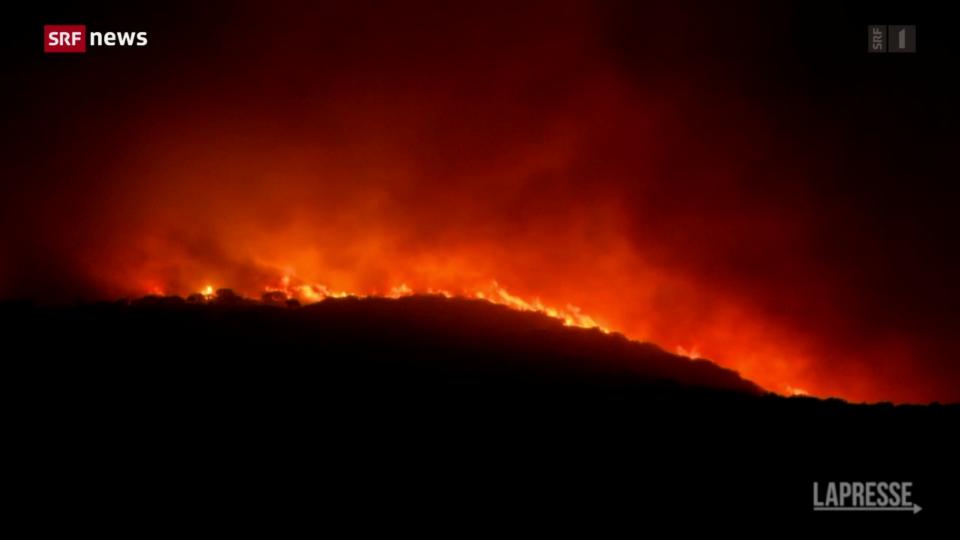 Brände wüten auf Sardinien