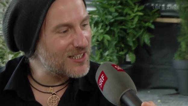 Video «Eluveitie - Interview mit Chrigel Glanzmann» abspielen
