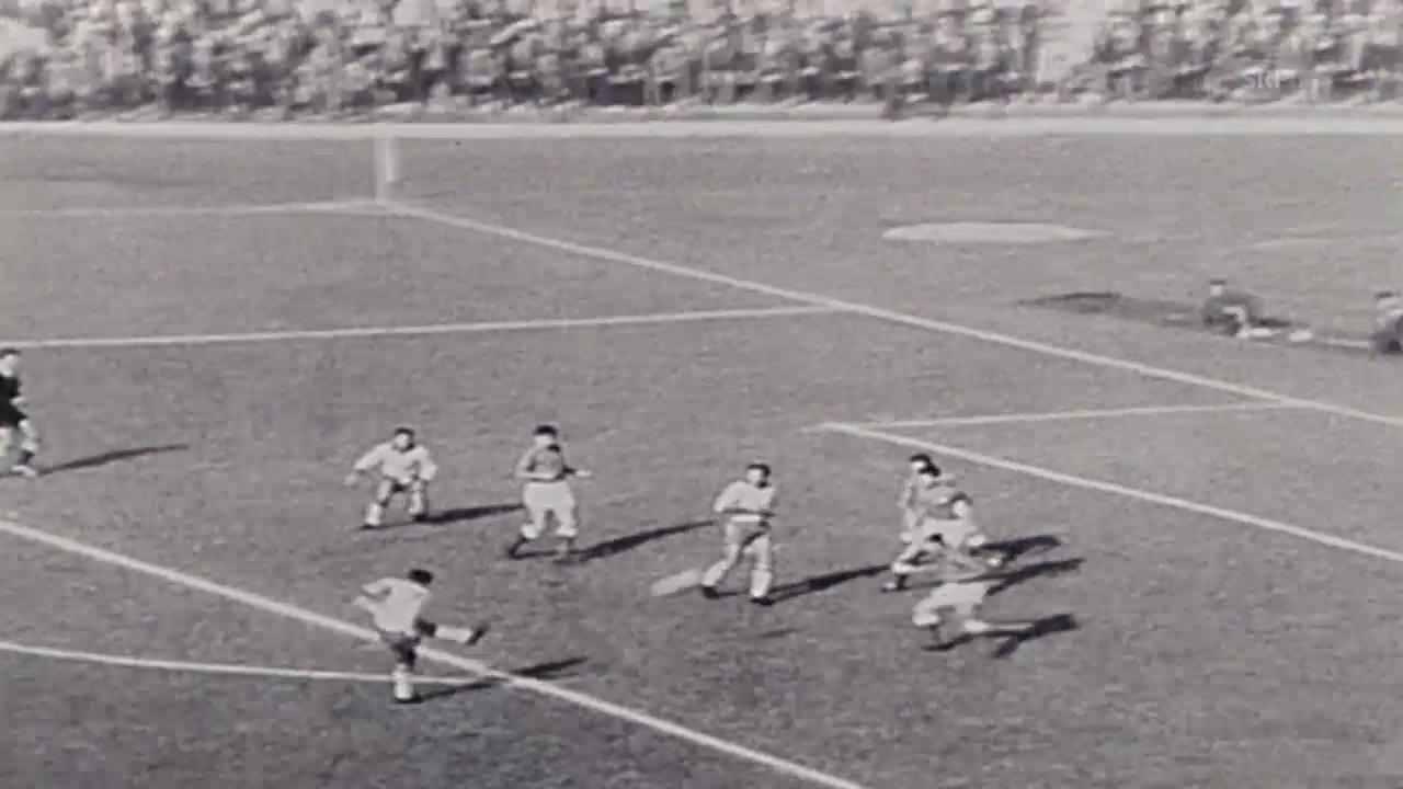 Fussball: WM 1962, Halbfinal Brasilien - Chile, Garrincha trifft doppelt