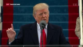 Video «Amtseinführung des 45. Präsidenten der USA» abspielen