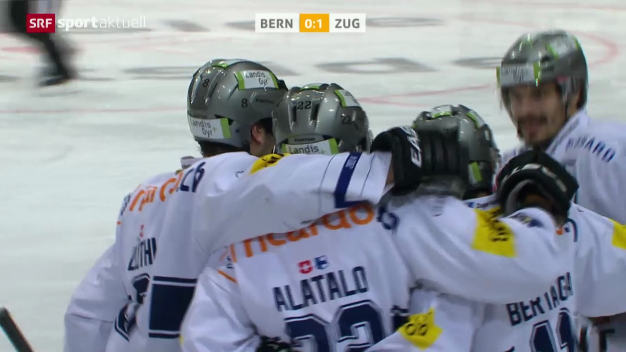 Eishockey: Bern-Zug