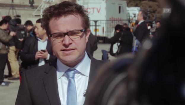 Video «Pascal Nufer berichtet aus Peking» abspielen