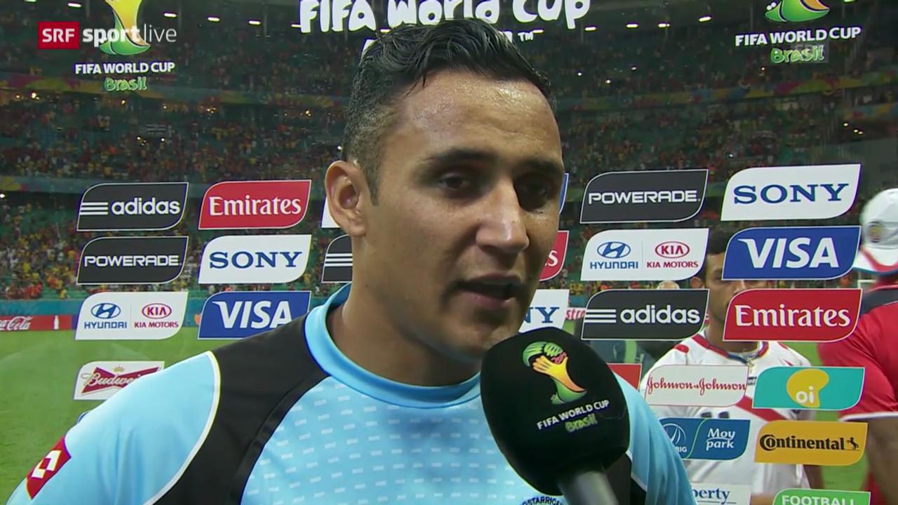 FIFA WM 2014: Interview mit Keylor Navas
