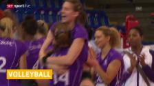 Video «Volero besiegt Bacau («sportlive» 12.12.2013)» abspielen
