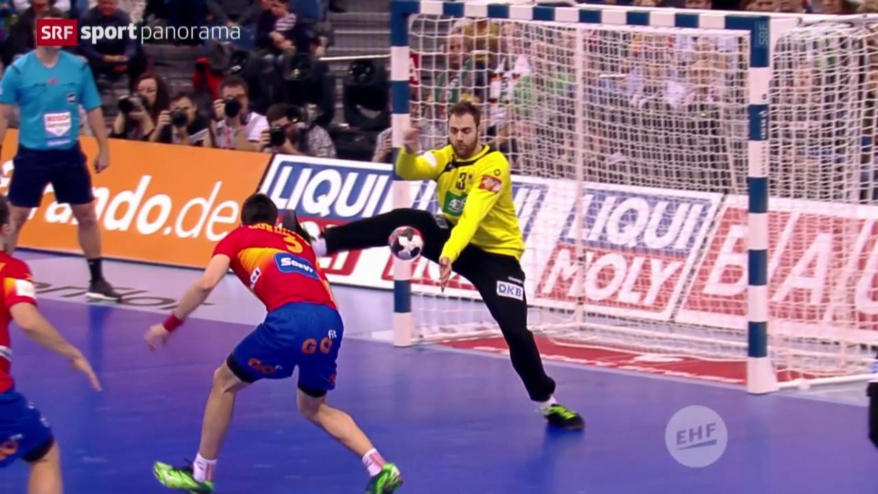 Deutschlands Handballer ermauern sich EM-Titel