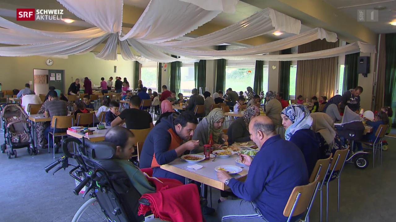 Syrische Flüchtlinge und ihr neues Leben in der Schweiz