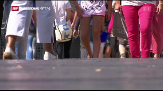 Video «Wachstum der Schweizer Bevölkerung nimmt ab» abspielen