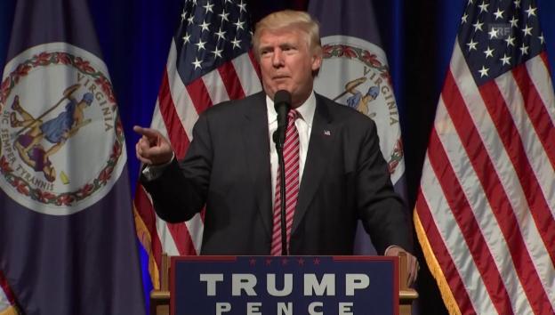 Video «Trump und das Baby» abspielen