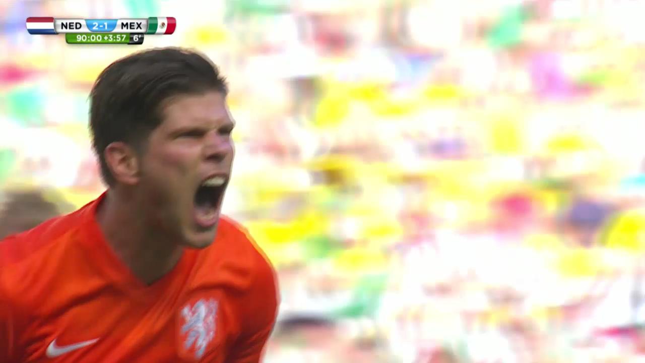 FIFA WM 2014: Niederlande - Mexiko, die Live-Highlights