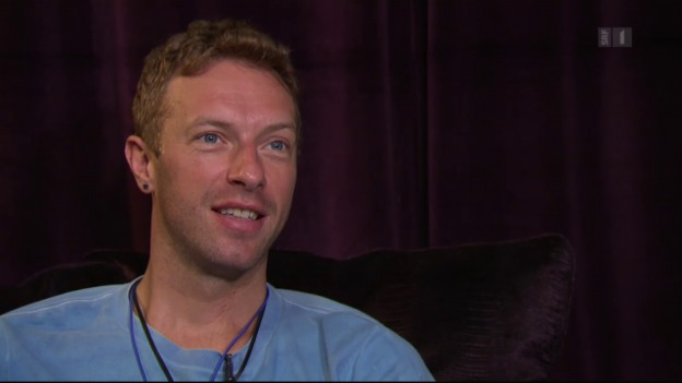 Video «Chris Martin: Ein ganz normaler Superstar» abspielen
