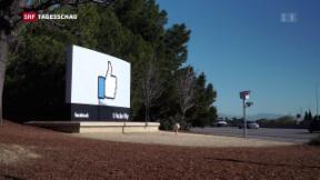 Video «Politiker weltweit kritisieren Facebook» abspielen