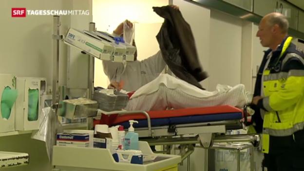 Video «Neues Konzept für Notfallpatienten» abspielen