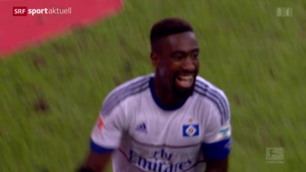 Video «Fussball: Bundesliga, Djourous Siegtreffer» abspielen