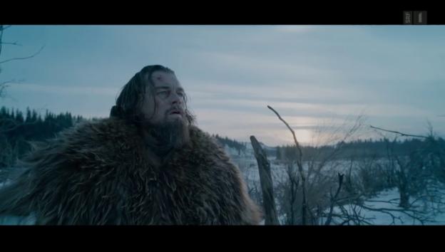 Video «Leonardo DiCaprio: Dreharbeiten unter Extrembedingungen» abspielen