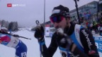 Video «Weger in Oberhof starker Neunter» abspielen