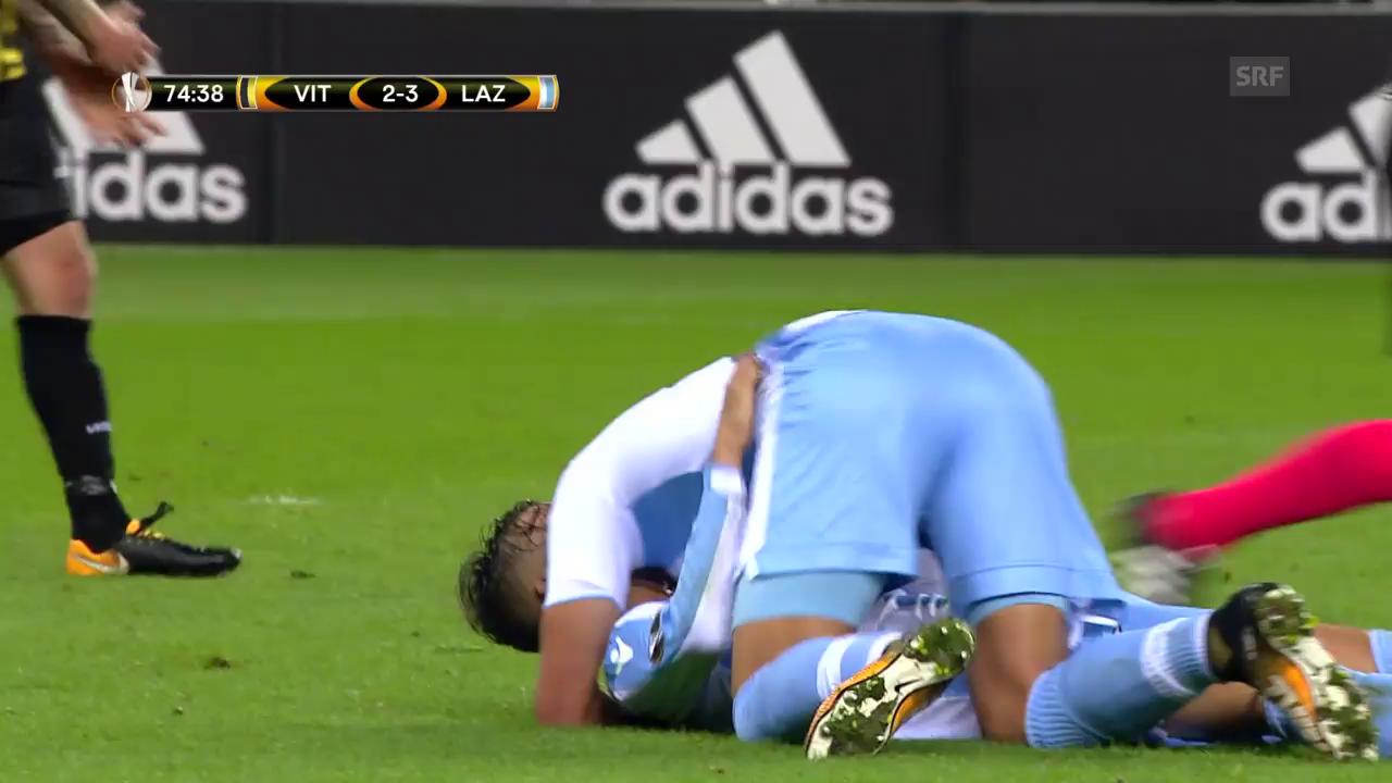 Vitesse-Lazio: Die Tore