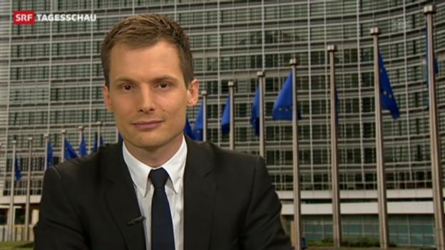 Video «SRF-Korrespondent Jonas Projer über den Abhörskandal» abspielen
