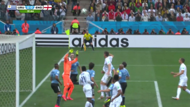 Video «Uruguay - England: Die Live-Highlights» abspielen