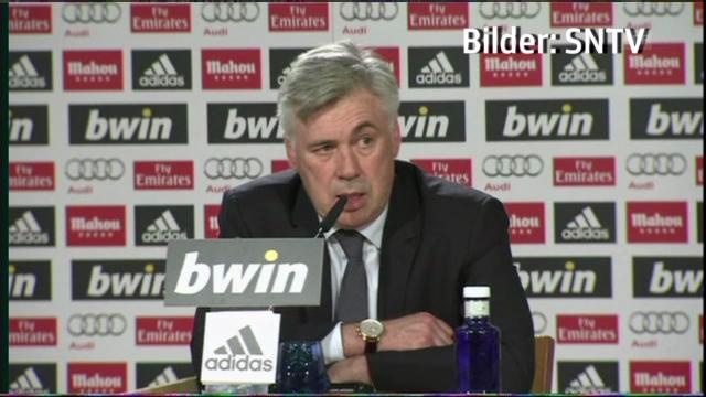 Carlo Ancelotti über Zinédine Zidane (französisch)