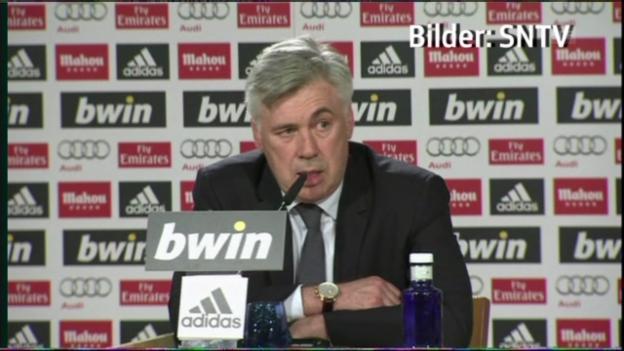 Video «Carlo Ancelotti über Zinédine Zidane (französisch)» abspielen