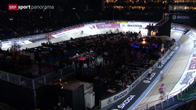 Video «Rad: Sechstagerennen in Zürich» abspielen