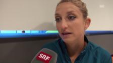 Video «Bacsinszky: «Verlor in den letzten Tagen viel Enerige»» abspielen