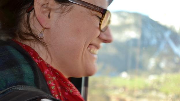 Fränzi Haller freut sich auf Lungener z'Morga zum z'Mittag.