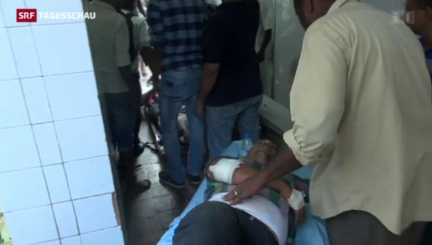 Video «Bürgerkrieg tobt im Jemen» abspielen