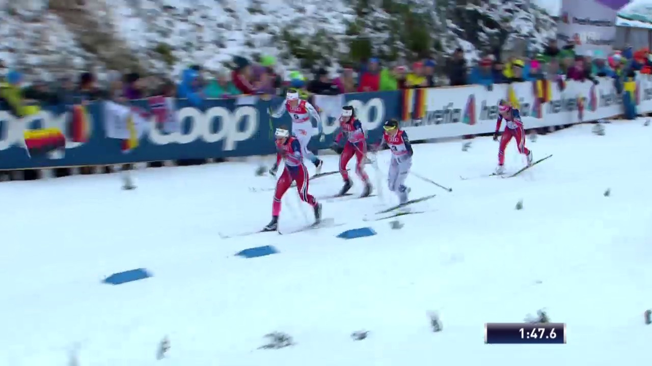 Langlauf: Tour de Ski, Sprint Oberstdorf, Final Frauen