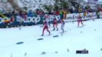 Video «Langlauf: Tour de Ski, Sprint Oberstdorf, Final Frauen» abspielen