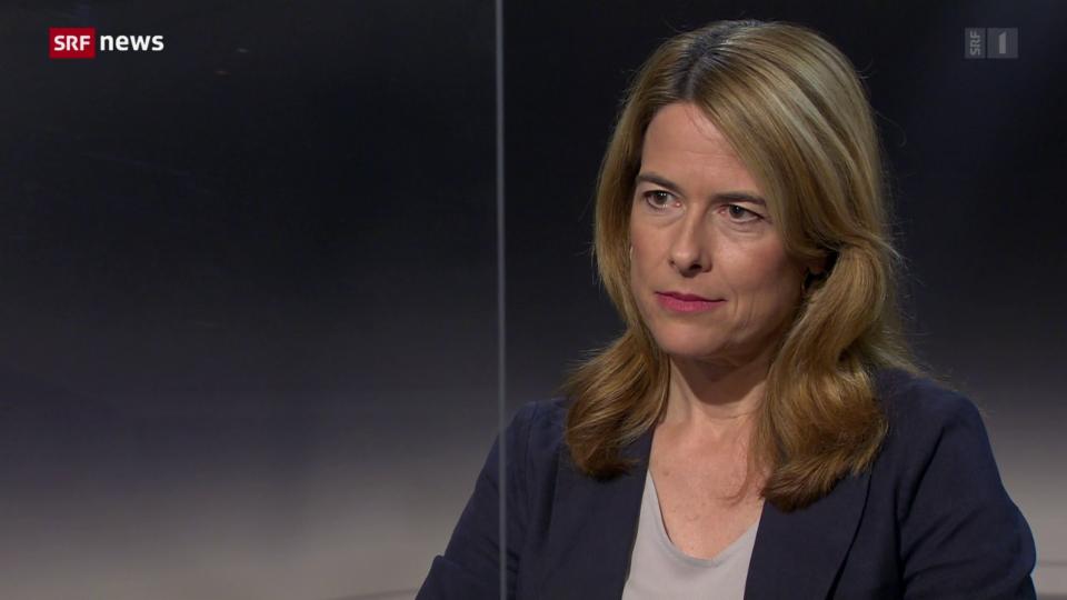 Archiv: Petra Gössi zu ihrem Rücktritt als Präsidentin der FDP