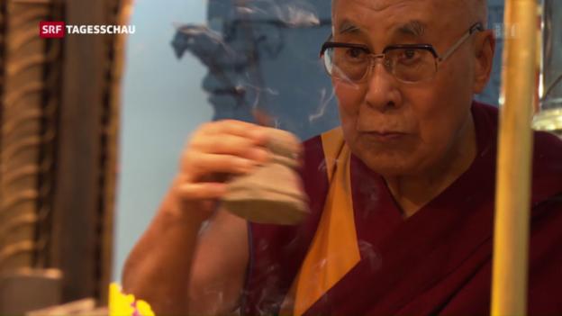Video «Dalai Lama zu Besuch in Bern» abspielen