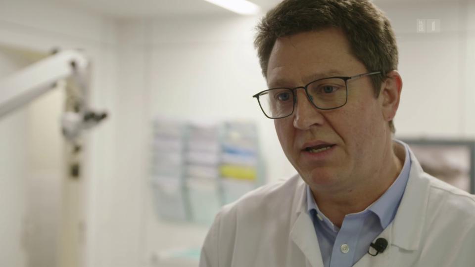 Chirurg Roland Giger: «Das Praktische für die Operation und danach ist nicht wirklich angekommen.»