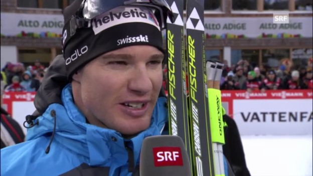Video «Tour de Ski: Interview mit Dario Cologna» abspielen