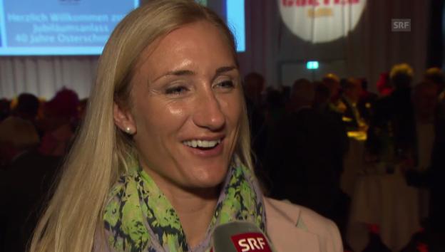 Video «Tanja Frieden über ihre neue Beziehung» abspielen