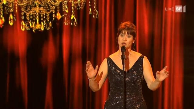 Sängerin Maya Wirz ist «Das grösste Schweizer Talent» 2011