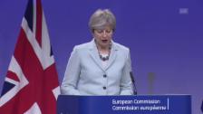 Video «Theresa May: Signifikante Verbesserungen erzielt» abspielen