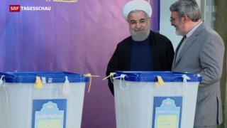Video «Erfolg für die Reformer in Iran» abspielen