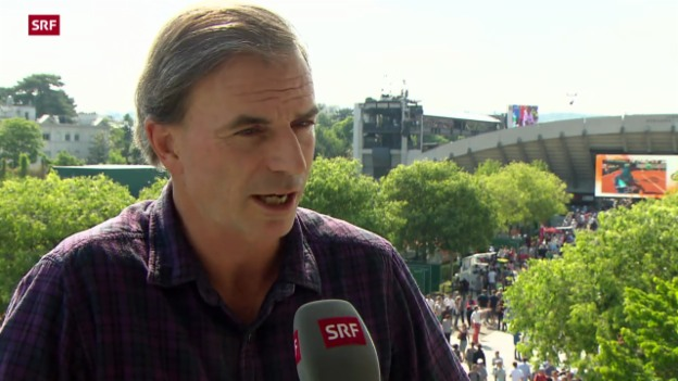 Video «Tennis: French Open, eine Zwischenbilanz» abspielen