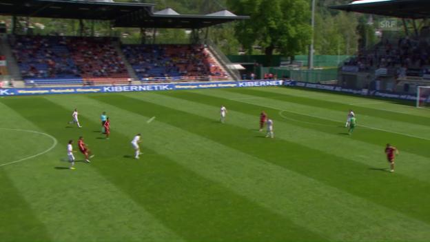 Video «Janjatovic trifft aus über 40 Metern» abspielen