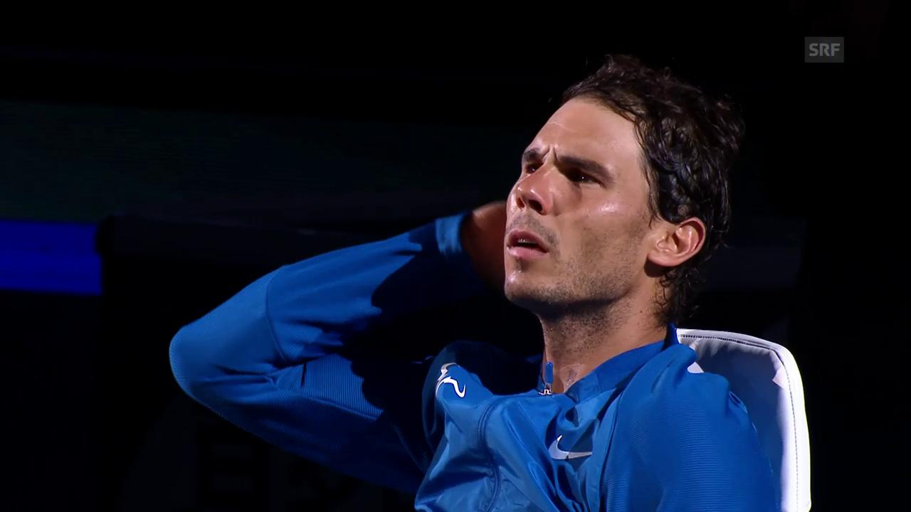 Rafael Nadal sagt Basel-Teilnahme ab