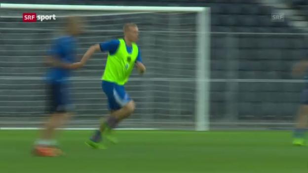 Video «Schweizer Quali-Gegner Island ist in Form («sportaktuell»)» abspielen