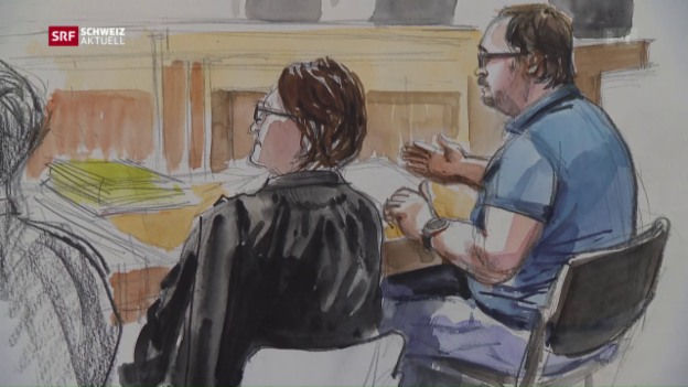 Video «Maries Mörder wehrt sich vor Gericht» abspielen