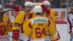 Video «Langnau gelingt spektakuläre Wende im Berner Derby» abspielen