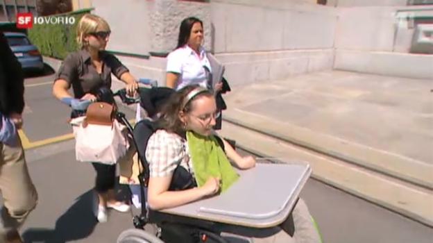 Video «Antibabypillen: Céline vor Gericht» abspielen