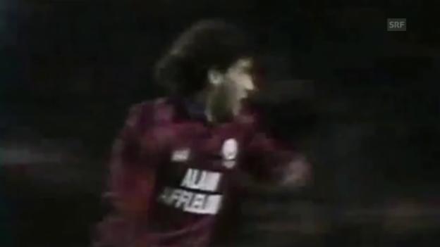Video «Fussball: Uefa-Cup 1996, Bordeaux-Milan» abspielen
