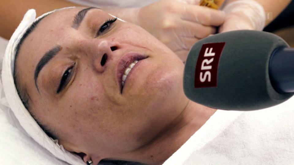 Kosmetikerin Zekaj Shehabaz: «Es gibt einen kleinen Nadelstich, das geht aber schnell vorbei.»