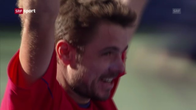 Video «Wawrinkas verrückte Woche in New York» abspielen